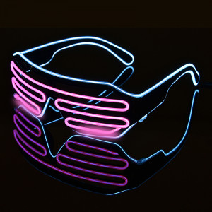 Double-colored-Flashing-Eyeglass-Party-Wire-LED-Light-Glasses-Halloween-Fluorescent-Luminous-Glowing